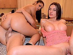 Amateur, Foursome, Party, Elegant women fuck in cfnm foursome, Hclips.com