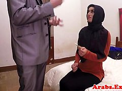 Amateur, Arab, Pussy prolapse after being fucked by dick, Gotporn.com
