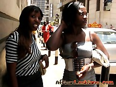 African, Lesbian, African lesbians eat close up, Nuvid.com