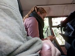 Bus, Caught, Husband caught wanking, Xhamster.com