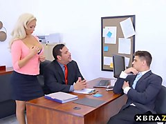 Office, Milf, Bbw with big tits fucked, Gotporn.com