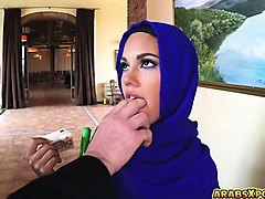 Arab, Big Cock, Milf cannot say know to his big cock, Nuvid.com