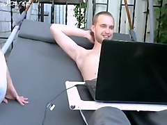 Couple, Couple having sex on leather couch, Hclips.com
