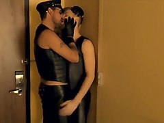 Leather, Russian wife cought cheating, Txxx.com