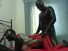 Latex, -indian busty aunty undressed to fuck on bed, Txxx.com