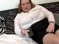Fat, Big Tits, Hairy mature woman fisted and humped by two, Sunporno.com
