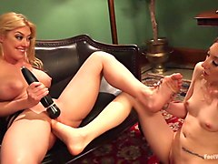 Milf, Pale blond getting fucked by 4, Txxx.com