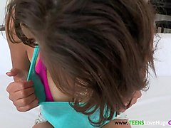 Amateur, Teen, Real amateur teen gets bukkake, Txxx.com