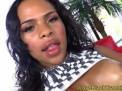 Ebony, Bus, Beauty, Ebony solo masturbating, Gotporn.com
