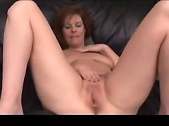 Milf, Redhead, Dick nasty fucked a girl in tv room, Txxx.com