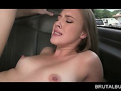 Bus, Beauty, Teen, Dad and son in shower, Nuvid.com