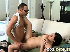Asian, Black, Husband watches wife fucking 2 guys, Nuvid.com
