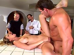Wife, Old Man, Husband catch his wife getting fuck, Txxx.com