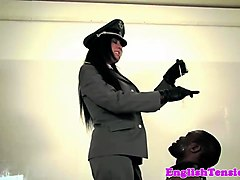 Black, Slave, Uniform, Tit milking slave farm, Nuvid.com