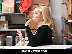Blonde, Office, Rough teen, Gotporn.com