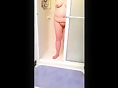 Hairy, Shower, Hairy indian solo, Voyeurhit.com