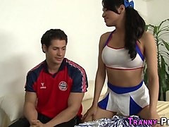 Ladyboy, Ass, Horny asian teen shemale fucking a guys ass, Txxx.com