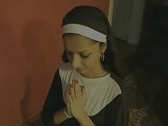 Indian, Nun, Swallow, Nun first, Xhamster.com