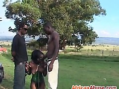 African, Double blowjob asslicking, Nuvid.com