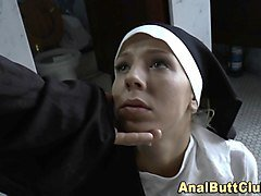Nun, Ass, Lesbian and black, Nuvid.com