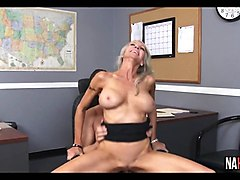 Blonde, Milf, Blond milf gets fucked in a van, Gotporn.com