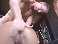 Riding, Slave, Tattoo, Hairy asian slave virgin first time sex, Gotporn.com