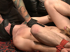 Humiliation making him suck his own dick, Txxx.com