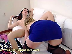 Black, Teen, Milf, Platinum blonde milf with big tits gets some, Gotporn.com
